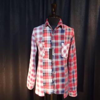バックボーン(BACKBONE)の【タグ付・レア】バックボーンシルバー925ネルシャツ (シャツ)
