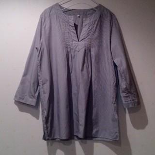 ムジルシリョウヒン(MUJI (無印良品))の無印良品ストライプスキッパーシャツ(シャツ/ブラウス(長袖/七分))