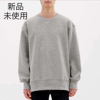 GU - GU 【新品未使用】ヘビーウェイトビック スウェット シャツ長袖 メンズ
