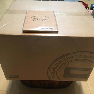バルミューダ(BALMUDA)の新品 バルミューダ K01E-KG スチームオーブントースター ブラック(調理機器)