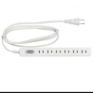 イケア(IKEA)の【新品×送料込み】IKEA 電源タップ ホワイト(変圧器/アダプター)