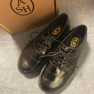 アッシュ(ASH)の新品★ASH★レザー★レースアップシューズ★革靴size37(ローファー/革靴)