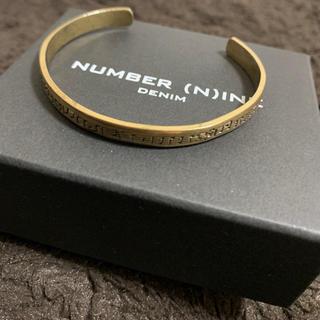 ナンバーナイン(NUMBER (N)INE)の【NUMBER (N)INE DENIM】 五線譜/音符柄バングル/ブレスレット(バングル/リストバンド)