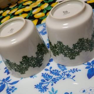 ハクサントウキ(白山陶器)の白山陶器の器2個(食器)