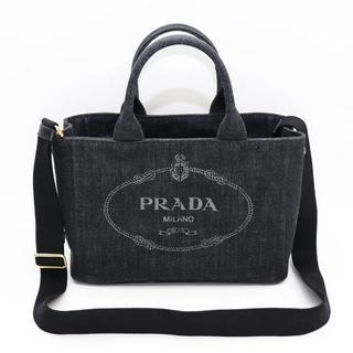 5d71fb2d391e プラダ(PRADA)の新品 プラダ カナパ トート バッグ ショルダーバッグ ブラック 2way ロゴ(