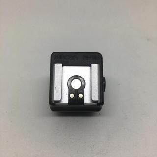 コニカミノルタ(KONICA MINOLTA)のMINOLTA FS-1100 ストロボ接点変換用 アダプタ(・∀・)(フィルムカメラ)