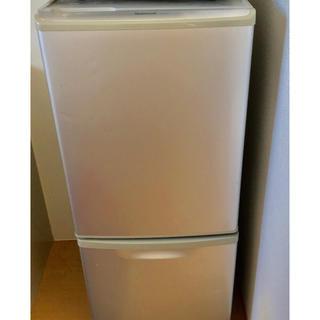 パナソニック(Panasonic)の冷蔵庫 NR-B140W  National パナソニック(冷蔵庫)