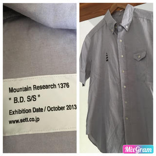 マウンテンリサーチ(MOUNTAIN RESEARCH)のMountainResearch アニマル刺繍 オックスフォード shirts(シャツ)
