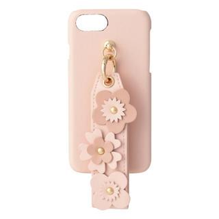 フランフラン(Francfranc)の【新品】Francfranc  フラワーモチーフ iPhoneケース ピンク (iPhoneケース)