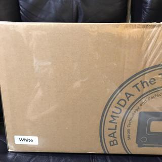 バルミューダ(BALMUDA)のバルミュダー トースター ホワイト(調理機器)