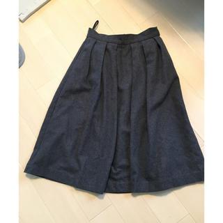 ナイチチ(nai chi chi)の膝丈ウールスカート(ひざ丈スカート)