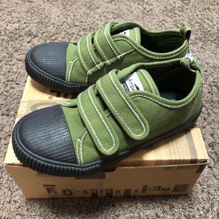 アンパサンド(ampersand)の《新品》ampersand 子供靴 19.0cm(スニーカー)