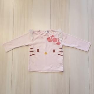 シマムラ(しまむら)のキティー長袖シャツ(Tシャツ/カットソー)
