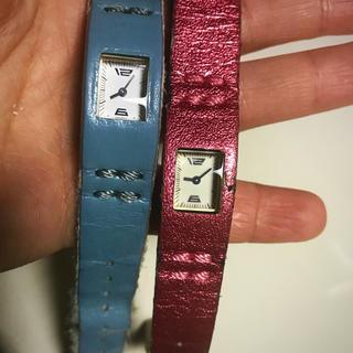 カバンドズッカ(CABANE de ZUCCa)のzucca 時計 2本セット(腕時計)