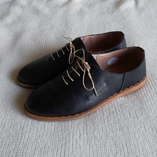 サヤ(SAYA)のもっち様 SAYA 【美品】レースアップシューズ 23cm(ローファー/革靴)