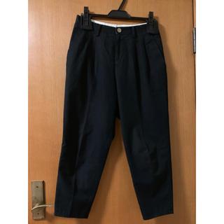 ディガウェル(DIGAWEL)のDIGAWEL 17SS 2TUCK PANTS【size:0 Black】(スラックス)