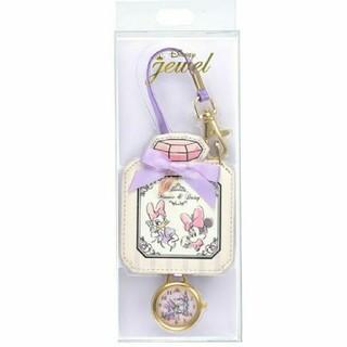 Disney - ミニー デイジー 時計 バッグチャーム