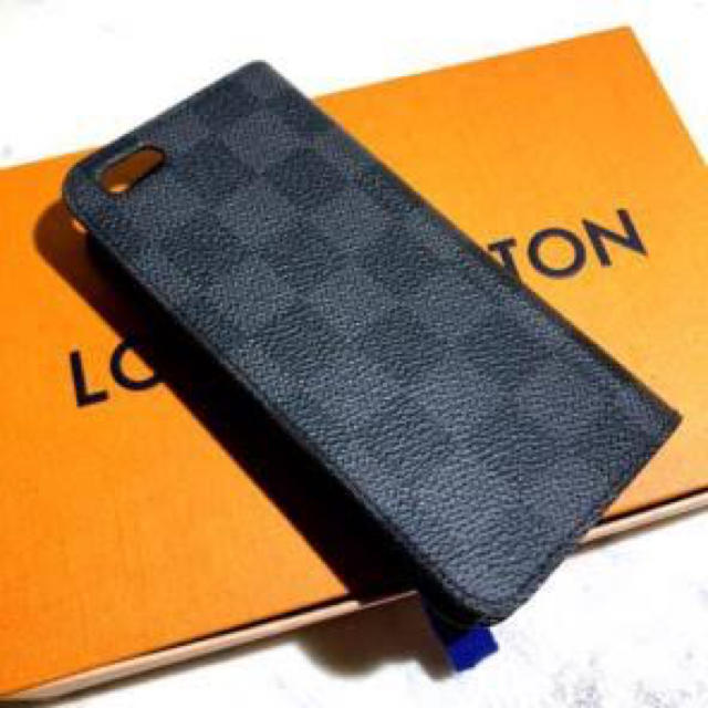 LOUIS VUITTON - IPhone7ケース LOUIS VUITTON フォリオ ダミエ・グラフィットの通販 by はると's shop|ルイヴィトンならラクマ