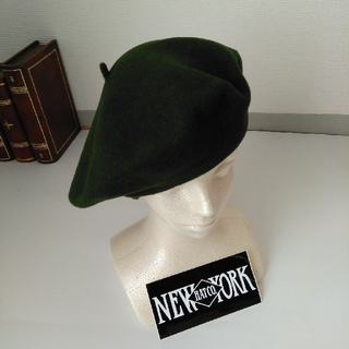 ニューヨークハット(NEW YORK HAT)のニューヨークハット 11 1/2インチ ウールベレー帽(ハンチング/ベレー帽)