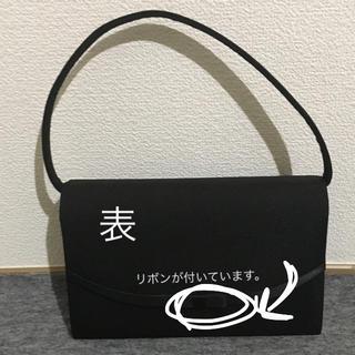 シマムラ(しまむら)の冠婚葬祭  黒  レディースバッグ(ハンドバッグ)