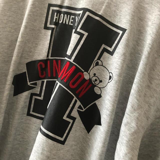 Honey Cinnamon(ハニーシナモン)のhoneycinnamon ハニーシナモン ロンT レディースのトップス(Tシャツ(長袖/七分))の商品写真