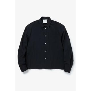 ディガウェル(DIGAWEL)のDIGAWEL 19SS DROP-SHOULDER SHIRT BLACK 2(シャツ)