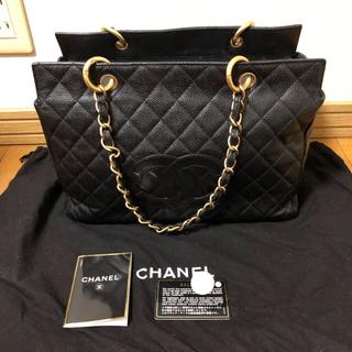 d0d195dac16d シャネル(CHANEL)の正規品 袋付き CHANEL キャビアスキンゴールドチェーンショルダーバッグ