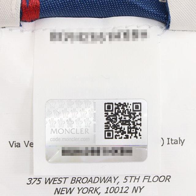 MONCLER(モンクレール)の【1】MONCLERロゴ 大判 コットン100% ネイビー ビーチタオル メンズのファッション小物(その他)の商品写真
