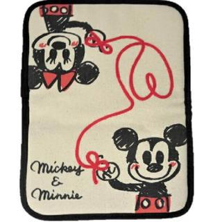 ディズニー(Disney)のミッキー&ミニー 母子手帳ケース(母子手帳ケース)