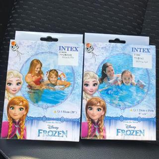 ディズニー(Disney)のアナと雪の女王 浮き輪 うきわ アームバンド 新品(マリン/スイミング)