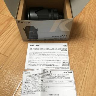 ペンタックス(PENTAX)の【値下げ】HD PENTAX-D FA 28-105mmF3.5-5.6ED(レンズ(ズーム))