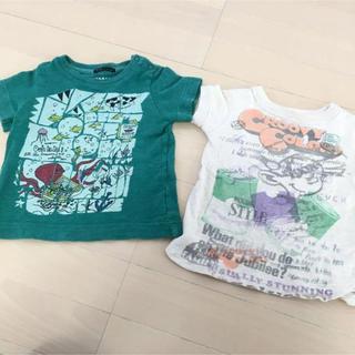 グルービーカラーズ(Groovy Colors)の2枚セット✨GROOVY COLORS グルービーカラーズ❤️半袖T フィス(Tシャツ)