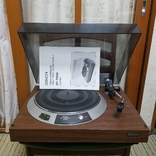 デノン(DENON)の音出可!Shureカートリッジ!完動美品!DENONターンテーブルDP-790W(その他)