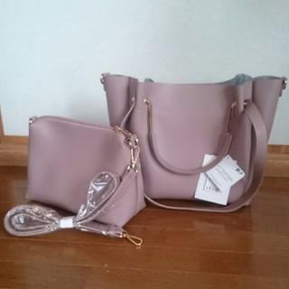 シマムラ(しまむら)の新品未使用 タグ付き バッグ 3way ♡Instagram人気ショルダーバッグ(ハンドバッグ)