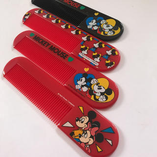 ディズニー(Disney)の新品未使用★昭和レトロ★ミッキーマウス★ヴィンテージ★ヘアコーム(ヘアブラシ)