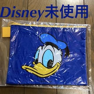 Disney - ドナルドダック フラットポーチ