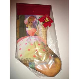 トイストーリー(トイ・ストーリー)のディズニー トイストーリー羊飼い人形ボー・ピープのクリスマス靴下オーナメント布製(その他)