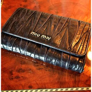 ミュウミュウ(miumiu)のミュウミュウ ウォレット (財布)