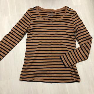 ジーユー(GU)のgu ロングTシャツ カットソー M(Tシャツ(長袖/七分))