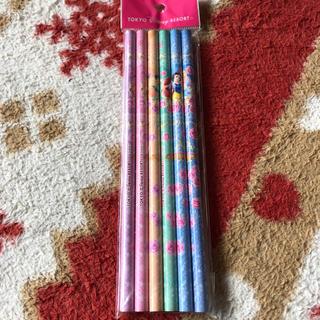 ディズニー(Disney)のディズニーリゾート プリンセス鉛筆6本(鉛筆)