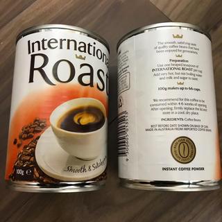 キーコーヒー(KEY COFFEE)のコーヒー☕️のとっても香ばしい香り❤️インスタントコーヒー☕️2缶(コーヒー)