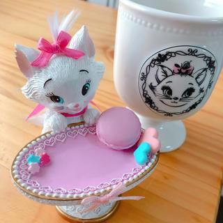 Disney - 匿名配送 アクセサリートレー&グラス マリーちゃん