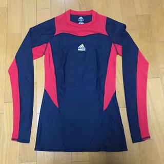 アディダス(adidas)のadidas TECHFIT CLIMACOOL 長袖トレーニングウェア(Tシャツ/カットソー(七分/長袖))