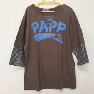 パプ(papp)の美品‼︎七分袖 140cm(Tシャツ/カットソー)