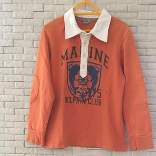 パプ(papp)のラガーシャツ 120cm(Tシャツ/カットソー)