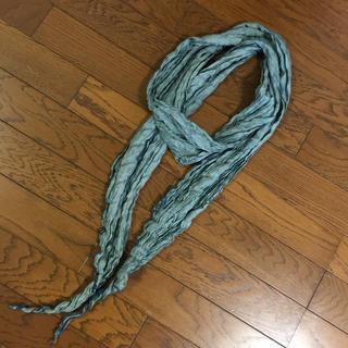 チャンルー(CHAN LUU)のチャンルー シワ加工 綺麗色 ストール スカーフ(ストール/パシュミナ)
