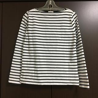 ジーユー(GU)の⭐️そらのすけ様専用出品⭐️GU ボーダーボートネックT(Tシャツ(長袖/七分))