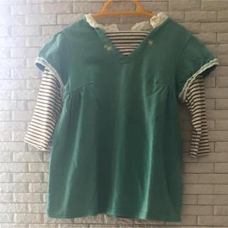 パプ(papp)の長袖(七分袖) 110cm(Tシャツ/カットソー)