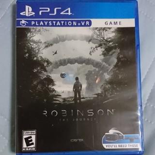 プレイステーションヴィーアール(PlayStation VR)のPS4 VR専用ソフト「ロビンソン ザ・ジャーニー(家庭用ゲームソフト)
