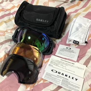 Oakley - オークリー スノーボード  プリズムレンズ ゴーグル スペアレンズ2枚付